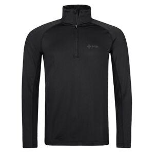 Pánské funkční triko s dlouhým rukávem kilpi willie-m černá 5xl