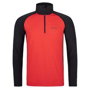 Pánské funkční triko s dlouhým rukávem kilpi willie-m červená xl
