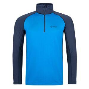 Pánské funkční triko s dlouhým rukávem kilpi willie-m modrá xxl