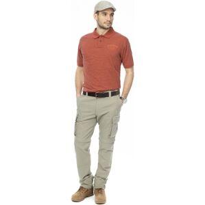 Pánské kalhoty bushman lincoln zip off světle zelená 54