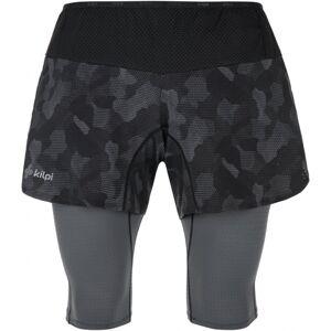 Pánské kompresní běžecké šortky kilpi bergen-m černá s