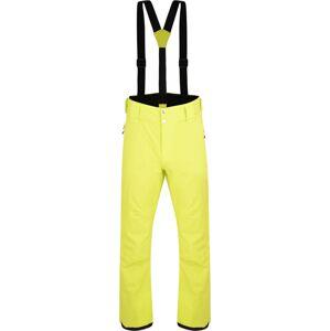 Pánské lyžařské kalhoty dare2b achieve limetkově zelená xxl