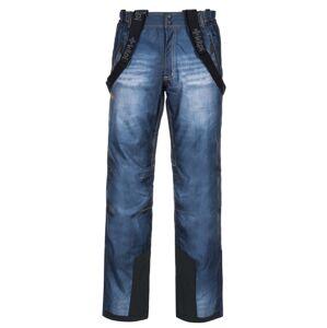 Pánské lyžařské kalhoty kilpi denimo-m modrá m