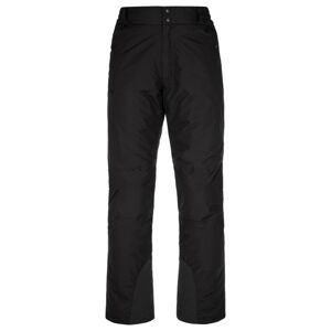 Pánské lyžařské kalhoty kilpi gabone-m černá s