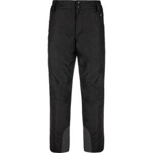 Pánské lyžařské kalhoty kilpi gabone-m černá xl