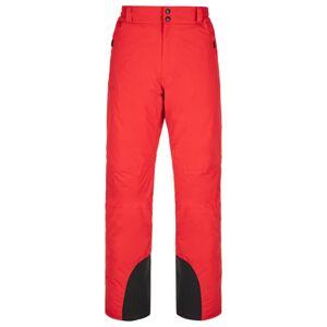 Pánské lyžařské kalhoty kilpi gabone-m červená ss