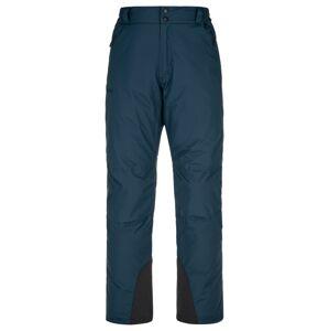 Pánské lyžařské kalhoty kilpi gabone-m tmavě modrá m