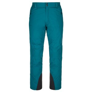 Pánské lyžařské kalhoty kilpi gabone-m tyrkysová ms