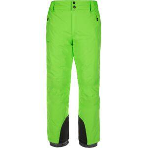 Pánské lyžařské kalhoty kilpi gabone-m zelená ls