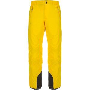 Pánské lyžařské kalhoty kilpi gabone-w žlutá xxl
