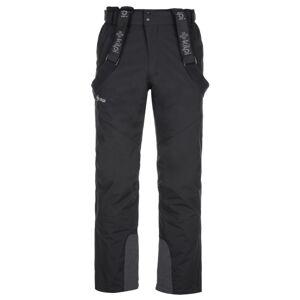 Pánské lyžařské kalhoty kilpi mimas-m černá 4xl