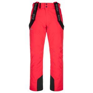 Pánské lyžařské kalhoty kilpi mimas-m červená ls