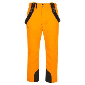 Pánské lyžařské kalhoty kilpi mimas-m oranžová l