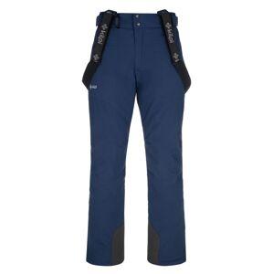 Pánské lyžařské kalhoty kilpi mimas-m tmavě modrá s