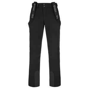 Pánské lyžařské kalhoty kilpi rhea-m černá ss