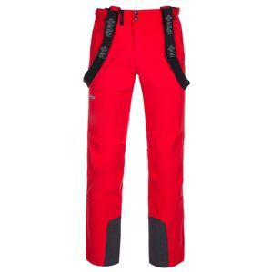Pánské lyžařské kalhoty kilpi rhea-m červená 4xl