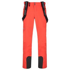 Pánské lyžařské kalhoty kilpi rhea-m červená ss