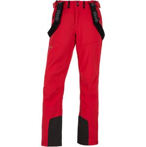 Pánské lyžařské kalhoty kilpi rhea-m červená  xs