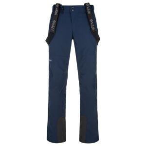 Pánské lyžařské kalhoty kilpi rhea-m tmavě modrá 4xl