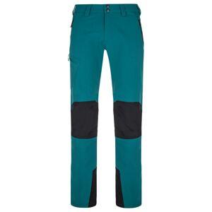 Pánské outdoorové kalhoty kilpi tide-m tyrkysová m
