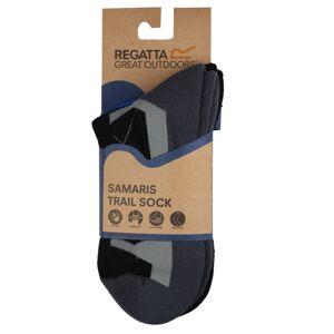 Pánské ponožky regatta outdoor šedá/černá 39-42