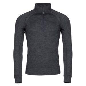 Pánské termo tričko kilpi jager-m big tmavě šedá s