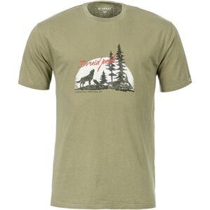Pánské tričko bushman austel světle zelená xl