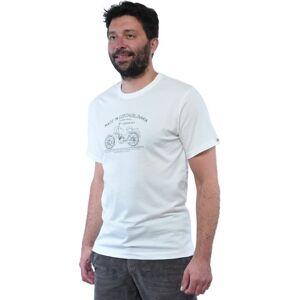 Pánské tričko bushman bobstock ii bílá xxxl