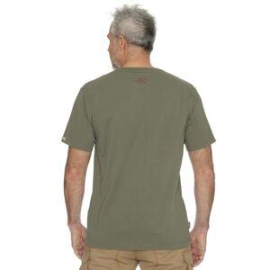 Pánské tričko bushman bobstock iv khaki xxxxl