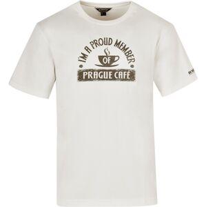 Pánské tričko bushman cafe krémově bílá xl