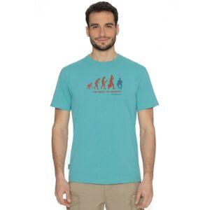 Pánské tričko bushman drop světle modrá m