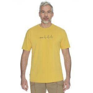 Pánské tričko bushman drop žlutá l