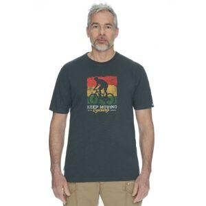 Pánské tričko bushman exponent tmavě šedá xl