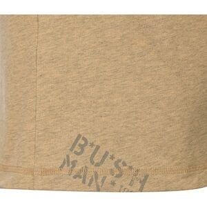 Pánské tričko bushman murray béžová l