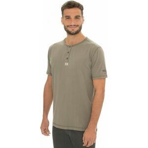 Pánské tričko bushman oramsy ii khaki xxxl