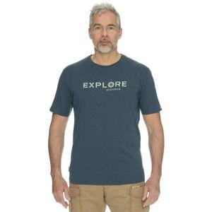 Pánské tričko bushman symbol tmavě modrá xl