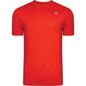 Pánské tričko dare2b enjoin tee červená xl