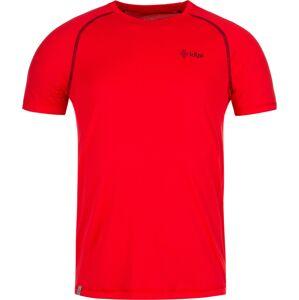 Pánské tričko kilpi border-m červená xl
