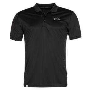 Pánské tričko kilpi collar-m černá m