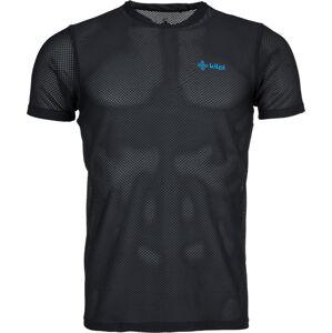 Pánské tričko kilpi cooler-m černá xxl
