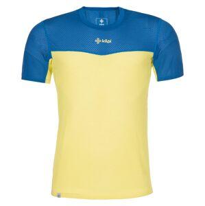 Pánské tričko kilpi cooler-m žlutá xl