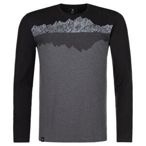 Pánské tričko kilpi drumon-m tmavě šedá l
