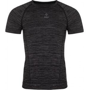 Pánské tričko kilpi leape-m tmavě šedá s