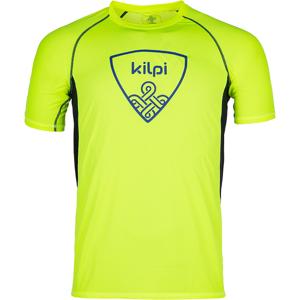 Pánské tričko kilpi litys-m žlutá  m