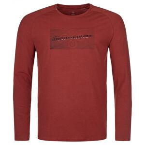 Pánské tričko kilpi sorel-m tmavě červená xxl
