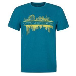 Pánské tričko kilpi territory-m tmavě modrá s