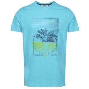 Pánské tričko regatta cline iv světle modrá l