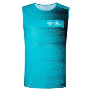 Pánské týmové běžecké tílko kilpi emilio-m modrá xs