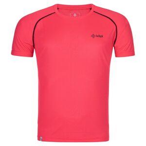 Pánské ultralehké tričko kilpi dimaro-m růžová m
