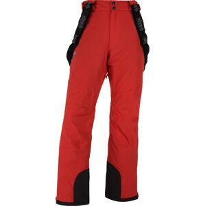 Pánské zimní lyžařské kalhoty kilpi methone-m červená  xxl